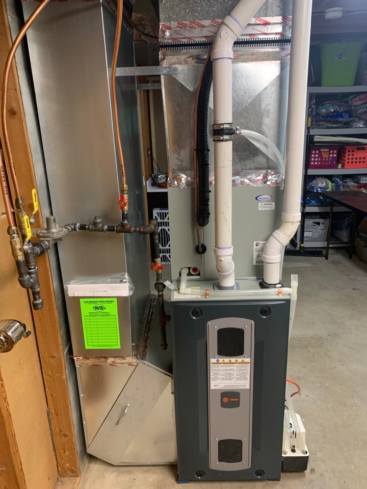 New furnace and A/C!