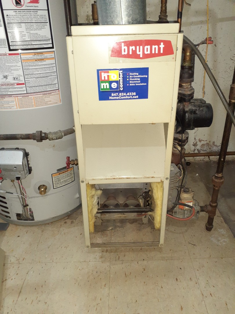 Skokie, IL - Cleaned and checked boiler In Chicago. System is working at this time.