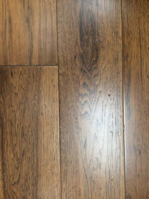 Pensacola, FL - Installed Wide Plank Somerset Wood Flooring in bedrooms and stair hallways. Color: Hickory Saddle. Underlayment sound barrier. Removed old carpet.