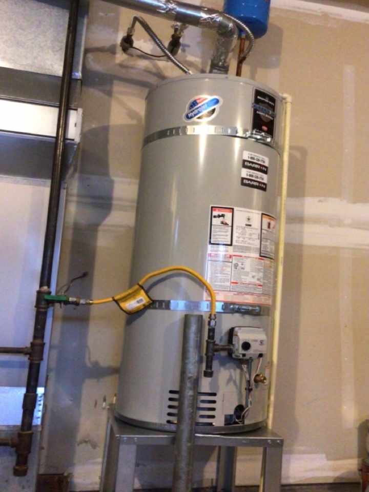 Bellingham, WA - Working on a water heater installation for family in Bellingham, WA.