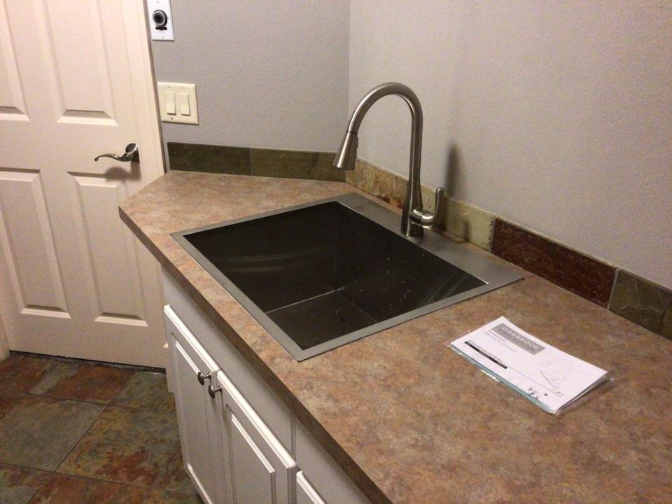 Ferndale, WA - Laundry sink replacement