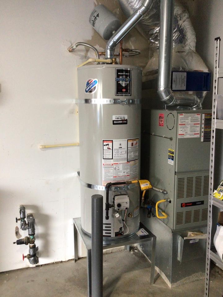 Blaine, WA - Water heater replacement in Birch Bay in Blaine, WA.
