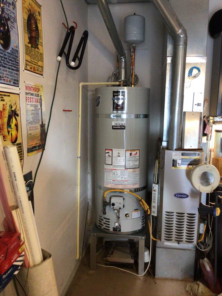 Oak Harbor, WA - Water heater replacement in Oak Harbor, WA.