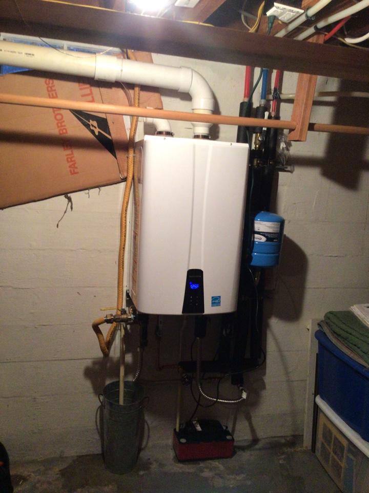 Anacortes, WA - Tankless install in Anacortes WA