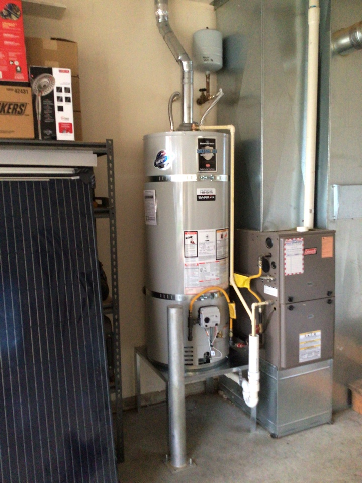 Everson, WA - Water tank replacement in Everson, WA.