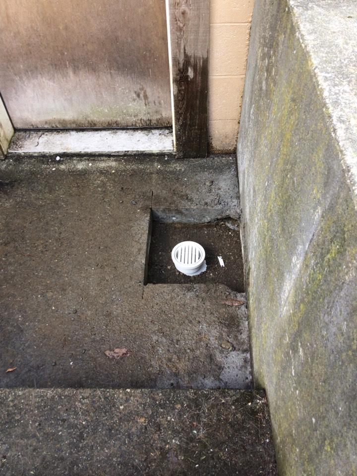 Bow, WA - Storm drain repair in Bow, WA.