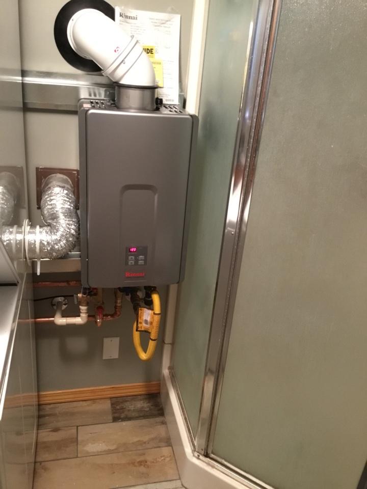 Hamilton, WA - Rinnai Tankless water heater installation in Hamilton, WA.