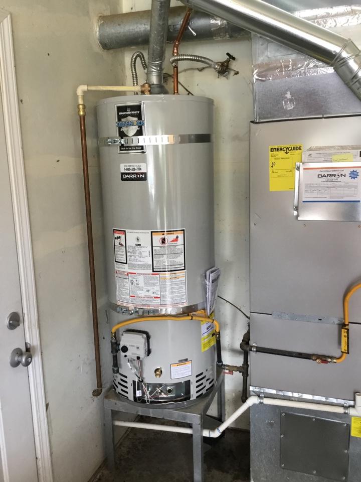 Ferndale, WA - 50 gallon gas water heater replacement in Ferndale, WA.