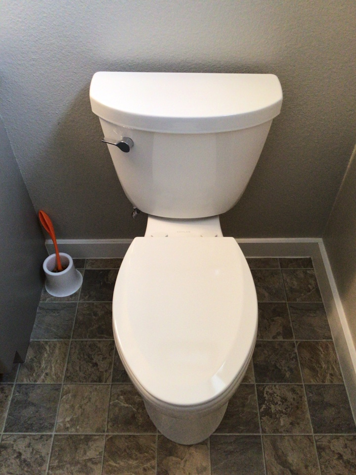 Lynden, WA - Toilet replacement in Lynden, WA.