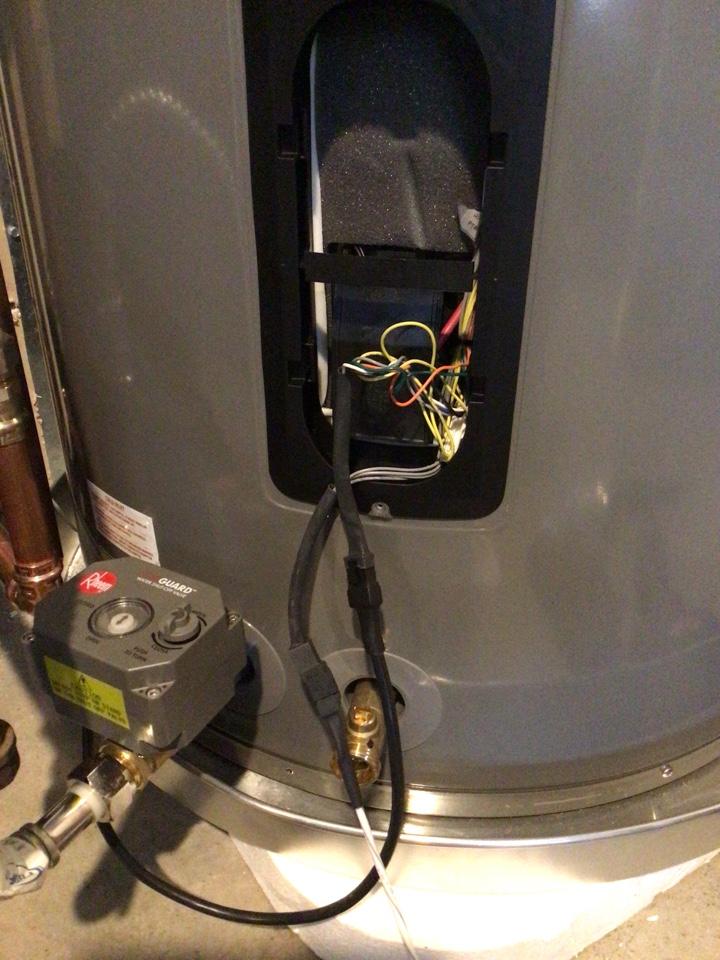 Bellingham, WA - Sensor installment in Bellingham, WA.