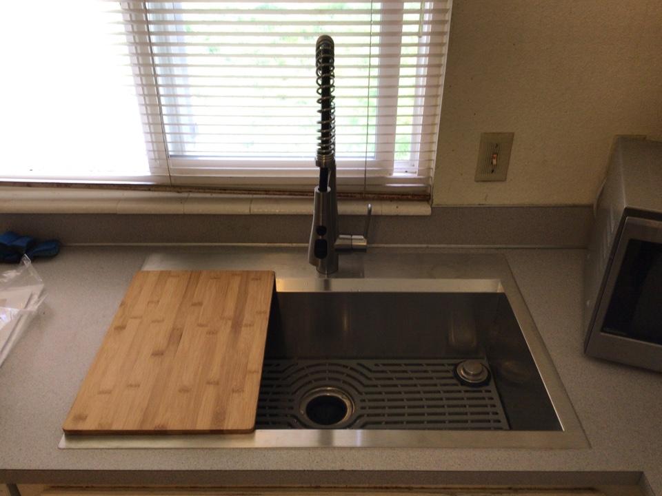 Mount Vernon, WA - Kitchen Sink Upgrade in Mount Vernon, WA.
