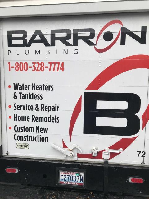 La Conner, WA - Tankless water heater install in La Connor, WA.