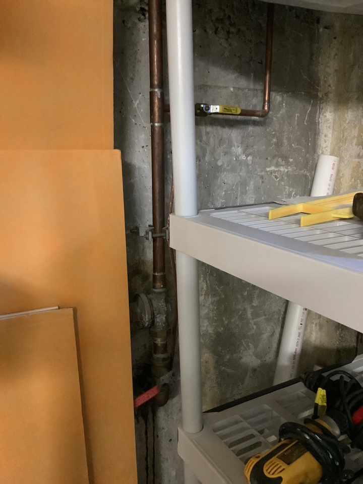 """Replacing a 1"""" PRV on a water line to reduce pressure from 110 psi to 70psi, Bellingham WA"""