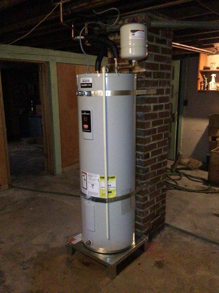 Water heater replacement in Burlington Washington