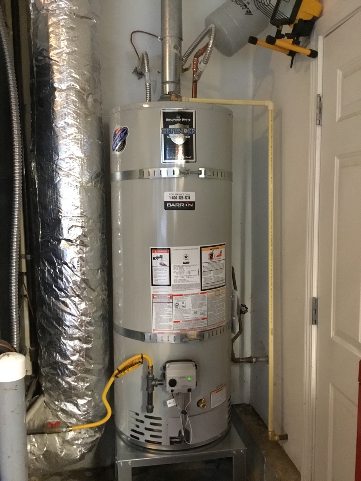 Bow, WA - Replaced a 50-gallon natural gas water heater in Mt Vernon, WA.