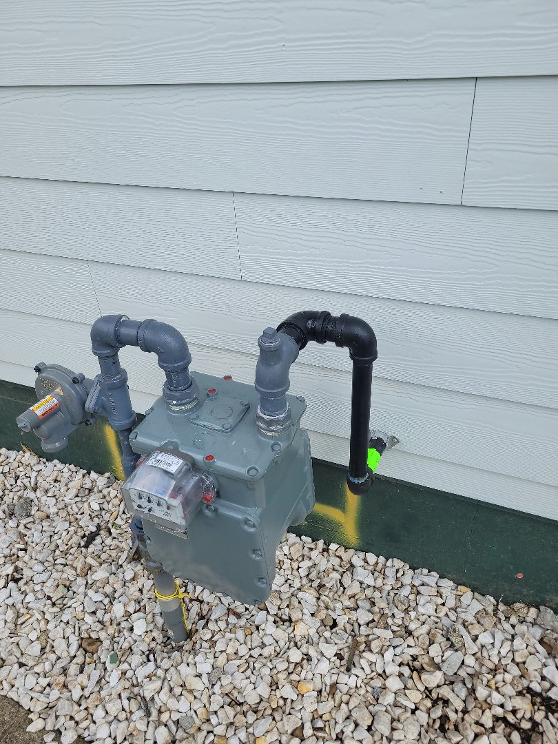 Lynden, WA - Gas meter hook up in Bellingham, WA