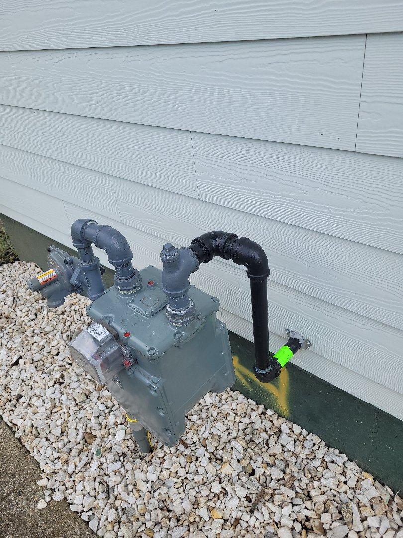 Bellingham, WA - Gas meter hook up in Bellingham, WA