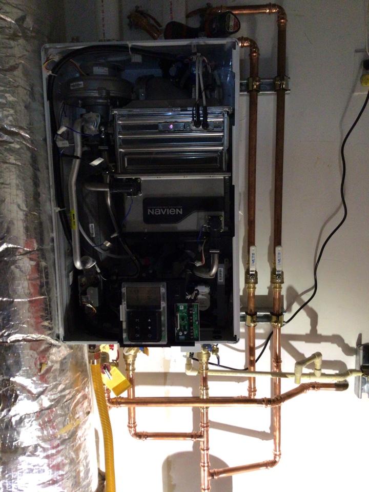 Blaine, WA - Tankless w/Recirc Installation in Ferndale WA