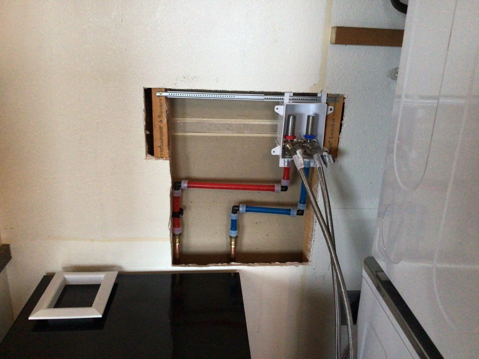 Bellingham, WA - Washer Box Upgrade on Lummi Island WA