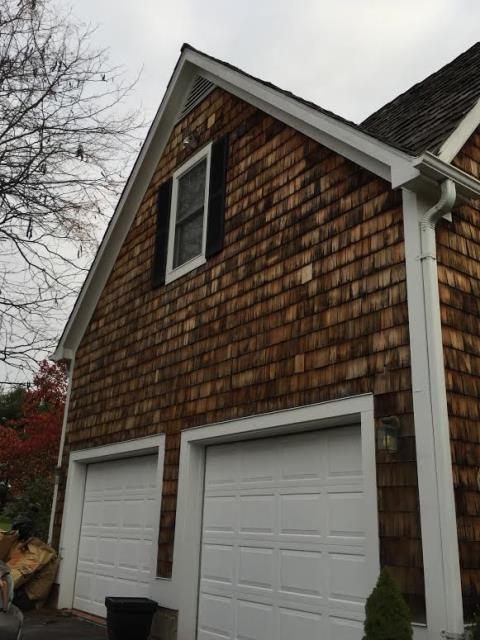 Purcellville, VA - We installed this beautiful cedar shake siding in Loudoun County recently! Another job done right.