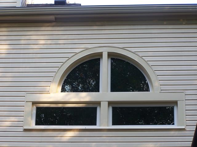 Woodbridge, VA - Look at these beautiful geometric windows installed in Woodbridge, VA by your Nation's Choice Windows!