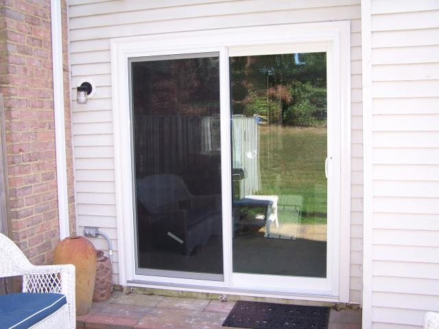 Alexandria, VA - We love replacing Sliding Glass Doors for your patio. Look at this one we did in Alexandria, VA!