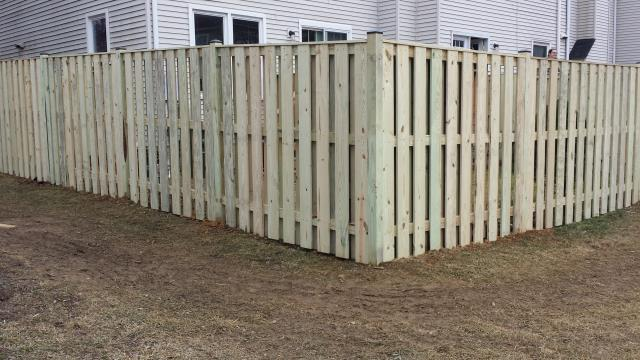 Alexandria, VA - Bet you didn't know we can build custom fences to go with your new patio or deck! Another beautiful installation by Nation's Choice.