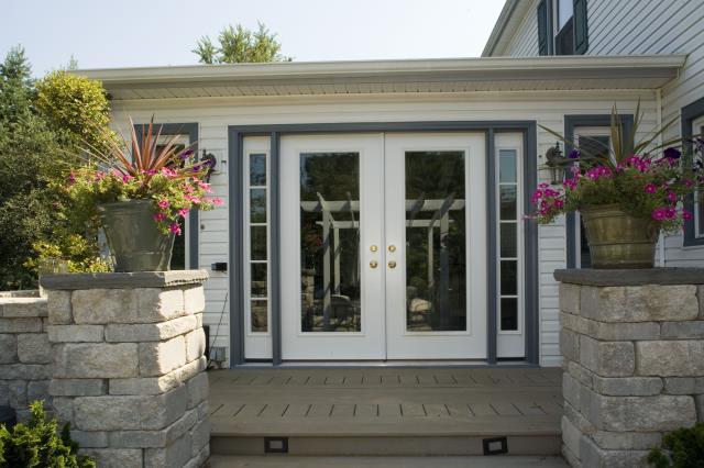 Fairfax, VA - Just installed beautiful new french doors in Fairfax, VA!