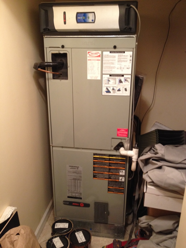 Cobden, IL - Fall maintenance- furnace tune up and cleaning