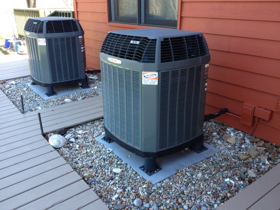 Lick Creek, IL - A/C service, repairing a Trane air conditioner