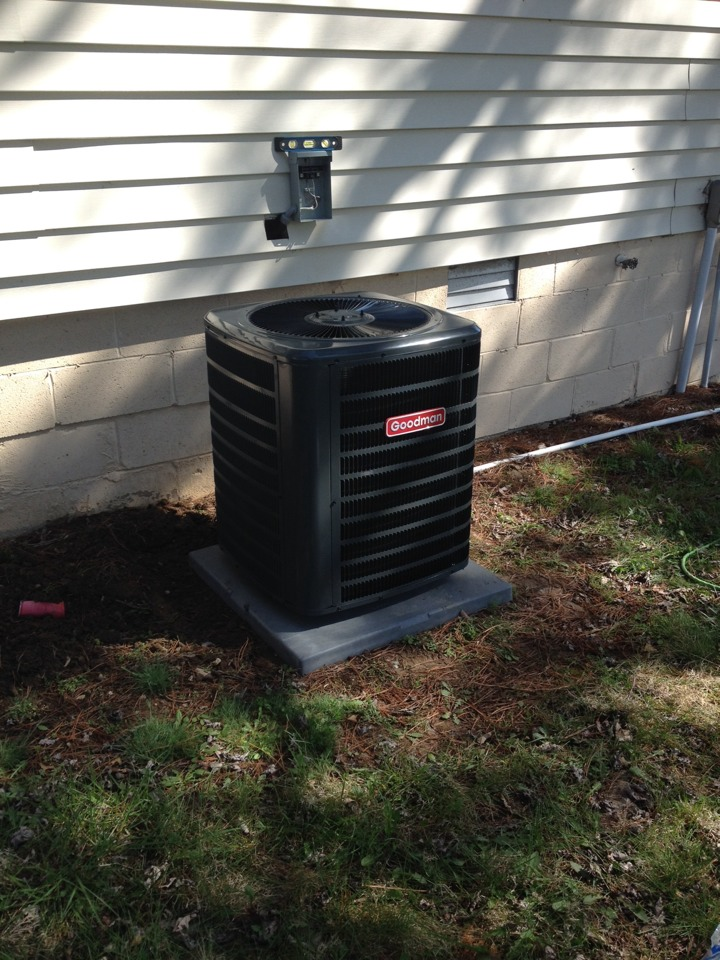 Herrin, IL - Air conditioning installation