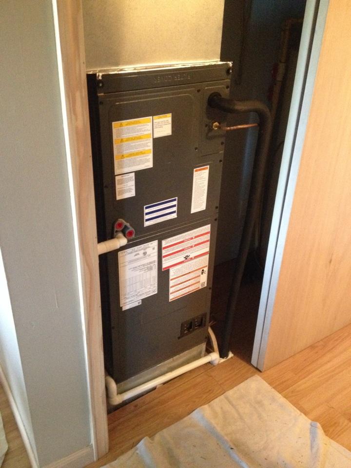 Herrin, IL - Goodman Heat Pump Installation