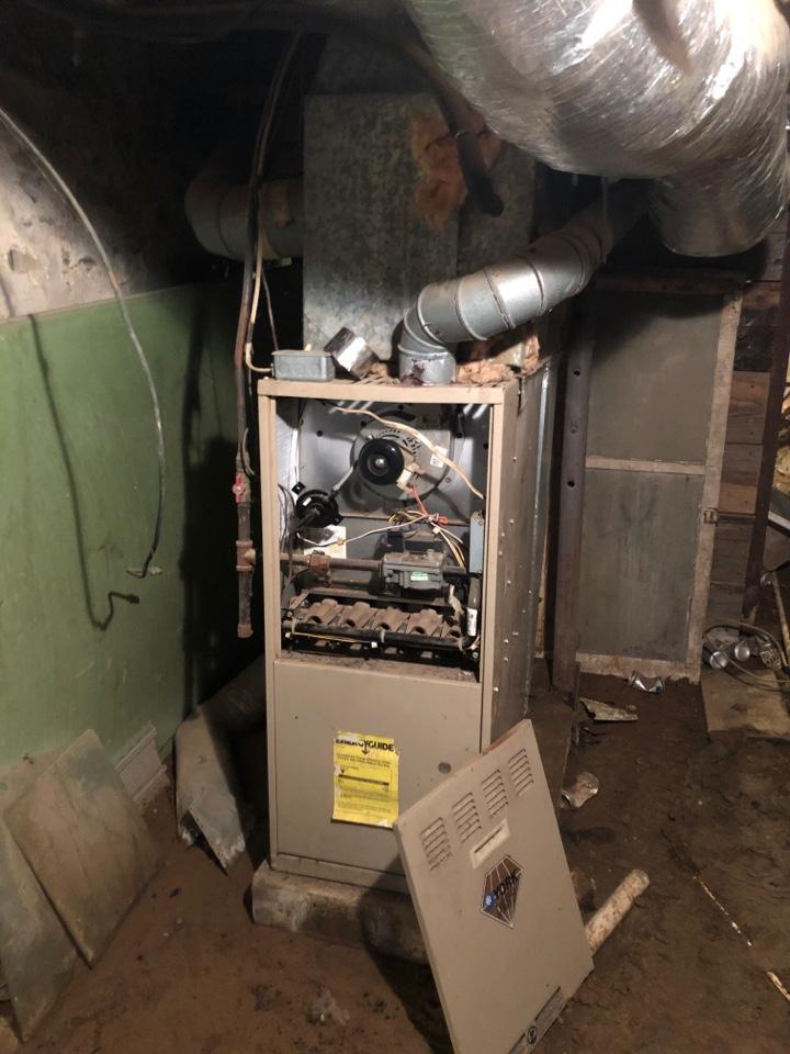 Jonesboro, IL - Heating service - York gas furnace
