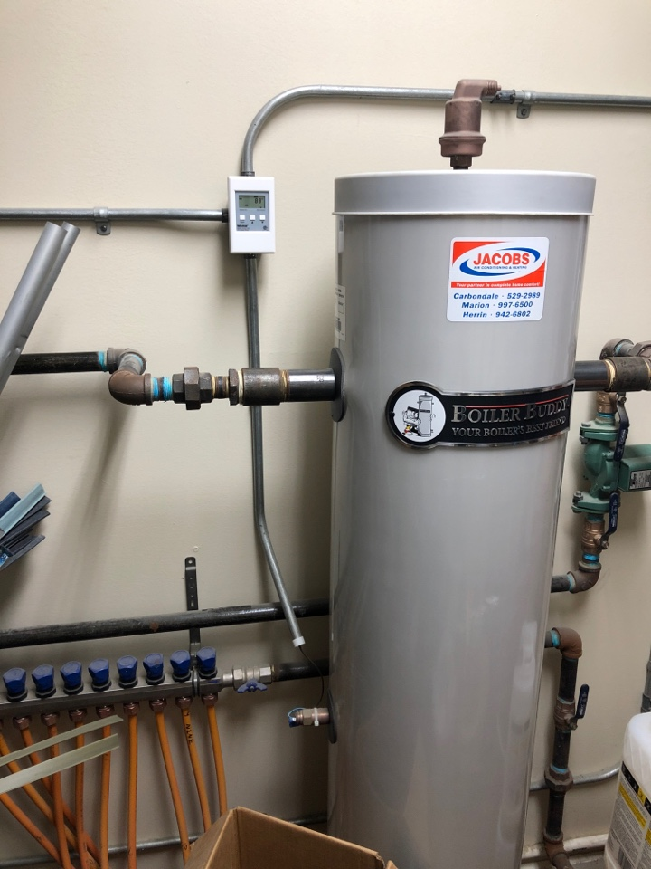 Anna, IL - Heating service - radiant floor heat & triangle tube boiler