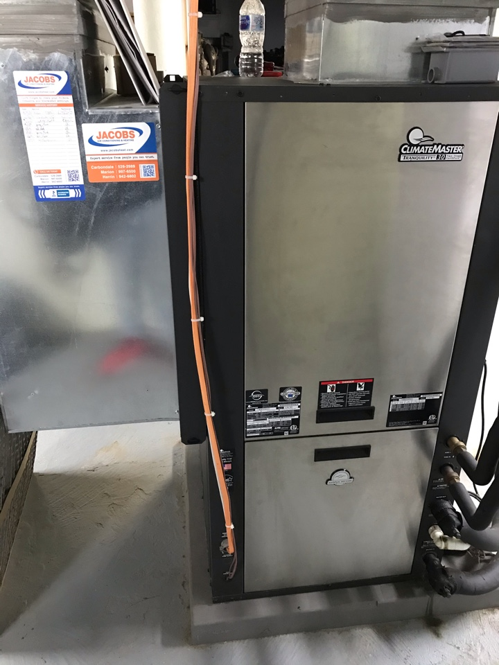 Ava, IL - ClimateMaster geothermal system fall maintenance