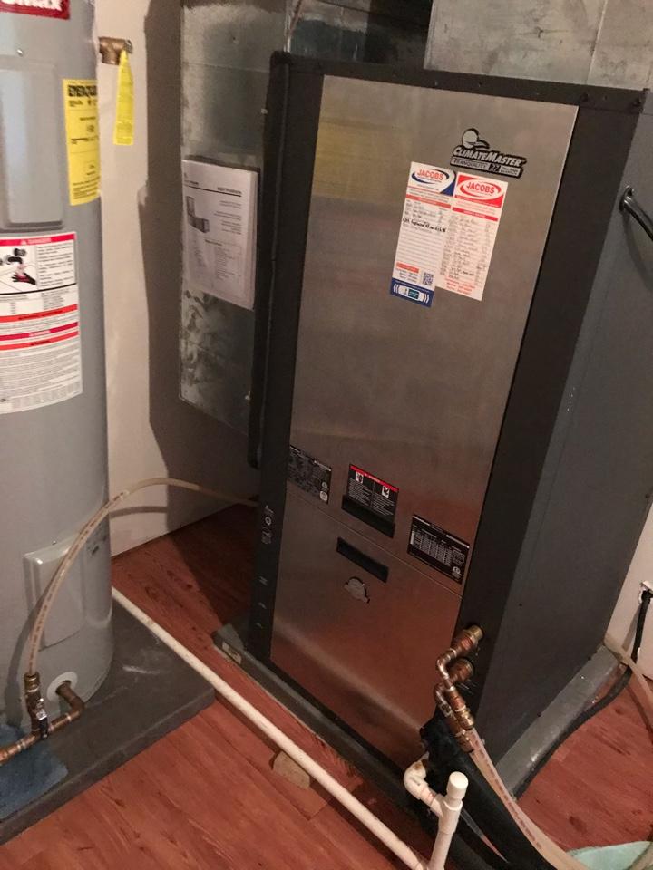 Makanda, IL - Spring maintenance on ClimateMaster geothermal system