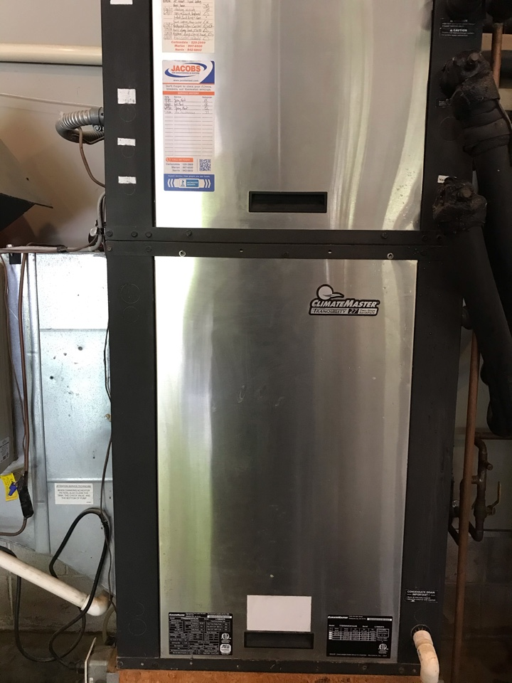 Carterville, IL - Spring maintenance on ClimateMaster geothermal