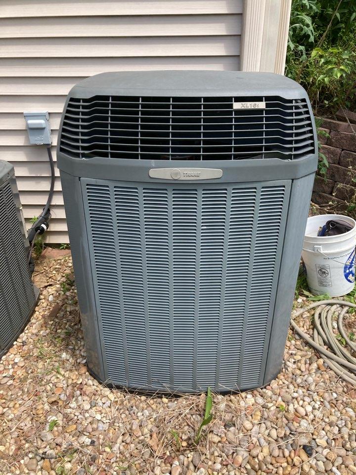 Makanda, IL - Air conditioning service - Trane a/c