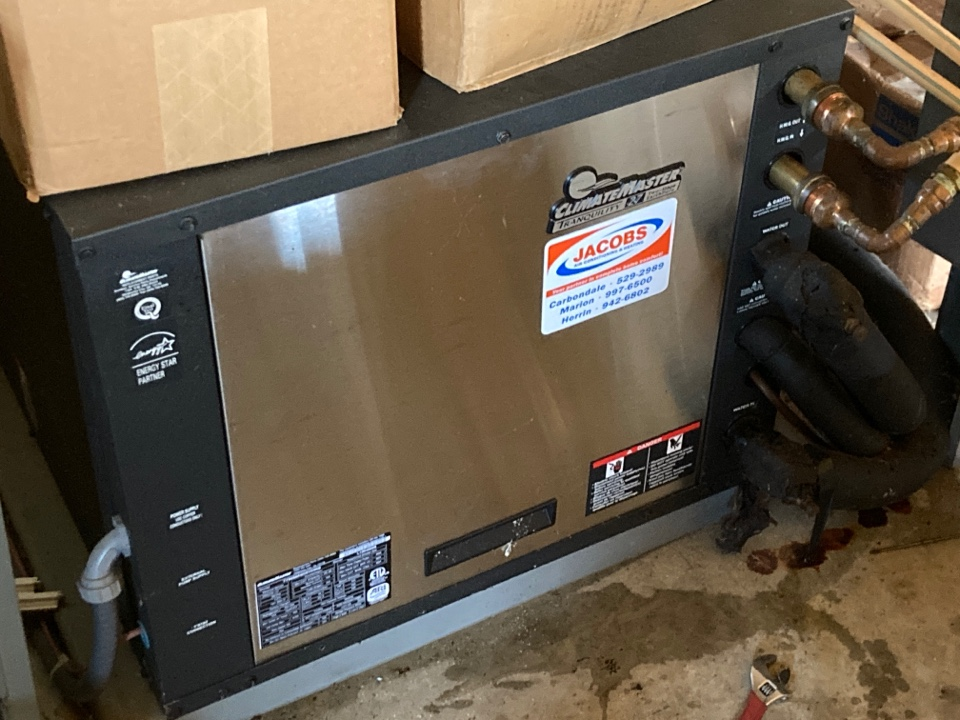 Carbondale, IL - Geothermal service - Climatemaster