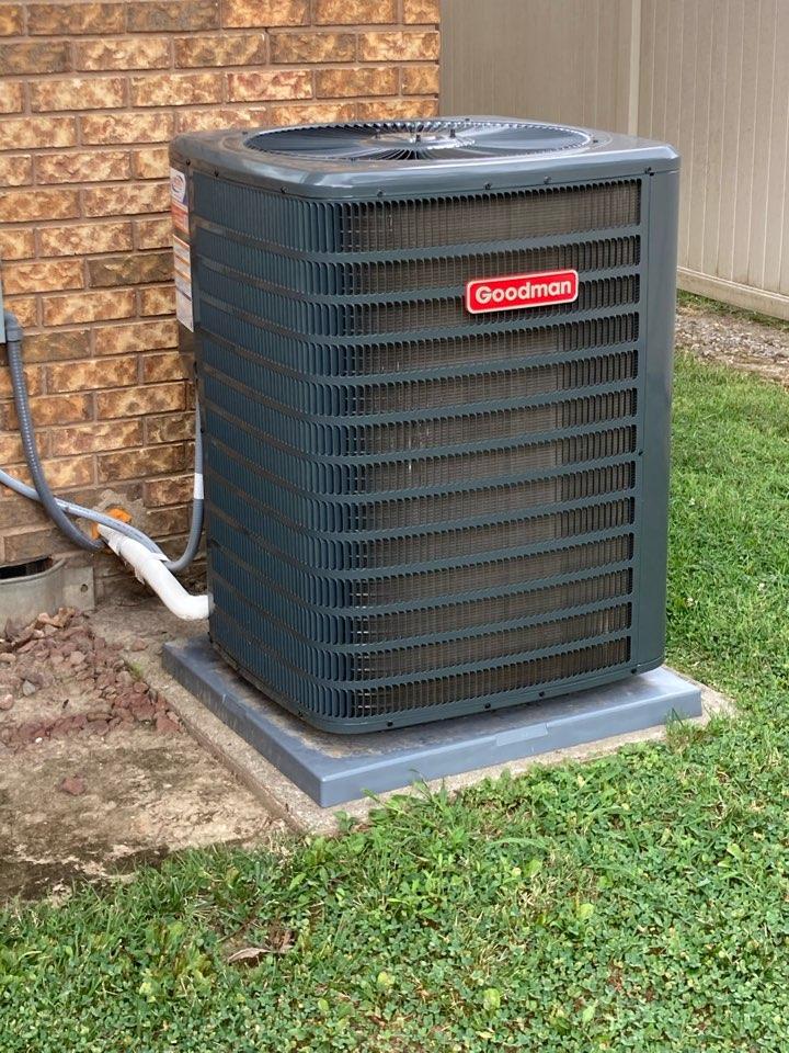 Carterville, IL - Goodman heat pump service