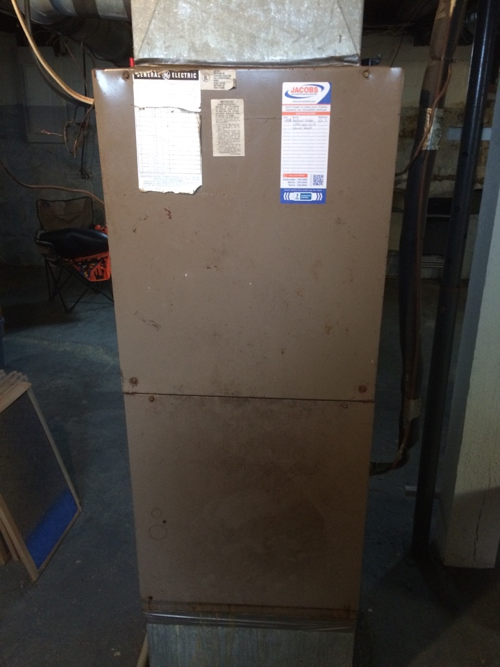 Pomona, IL - General Electric furnace repair