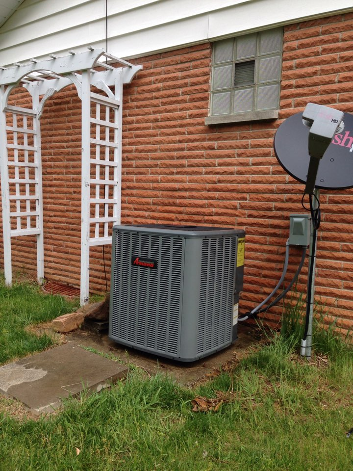 Energy, IL - Cooling maintenance AC tune up and cleaning. Amana furnace and air conditioner