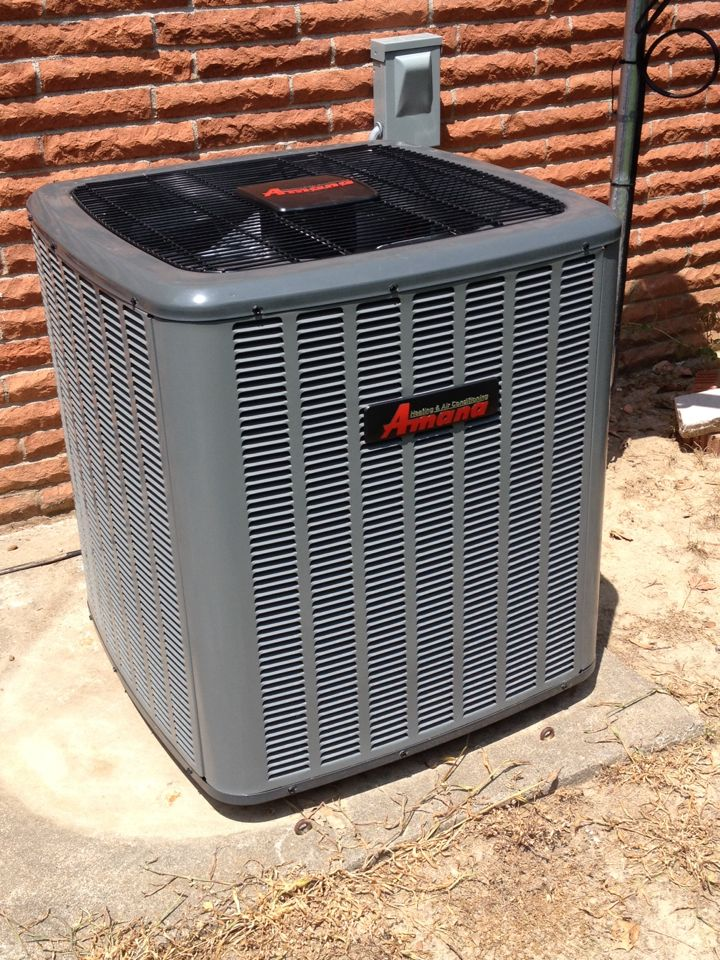 Energy, IL - AC replacement - new Amana air conditioner