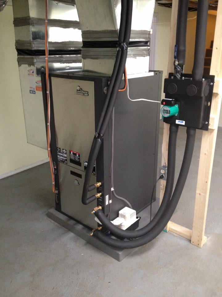 Ava, IL - Climate Master High Efficiency Geothermal System Installation