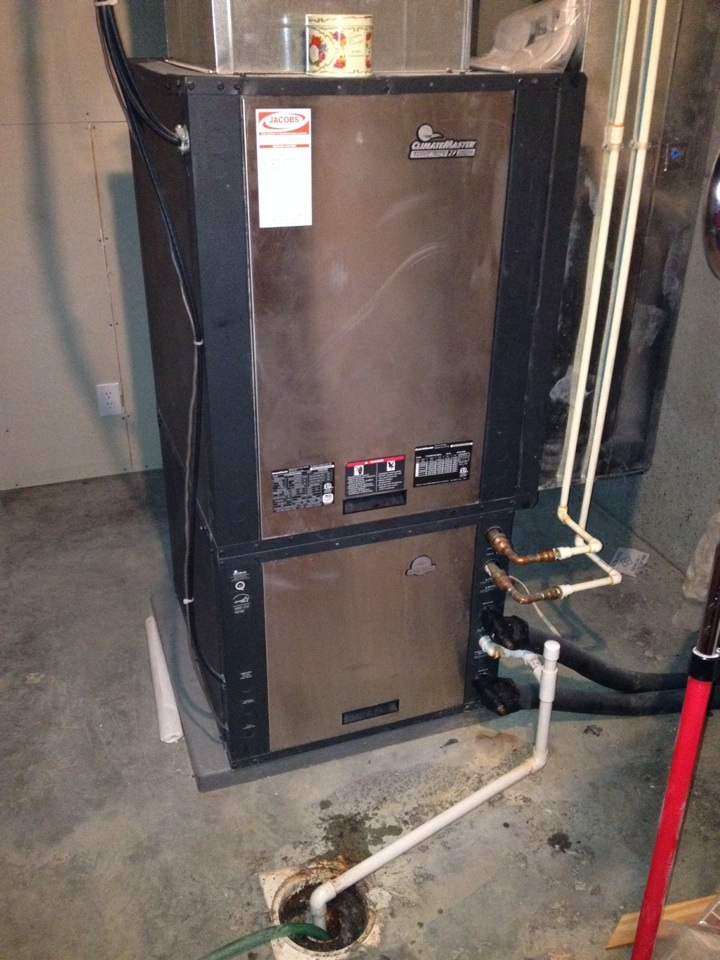 Cobden, IL - AC Service - Climatemaster Geothermal System Cleaning Service