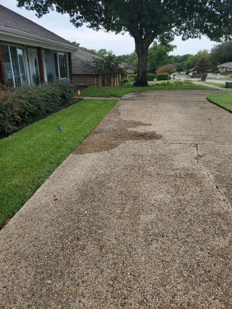 Garland, TX - Sprinkler system repairs,  Lateral line leak and replace broken heads.