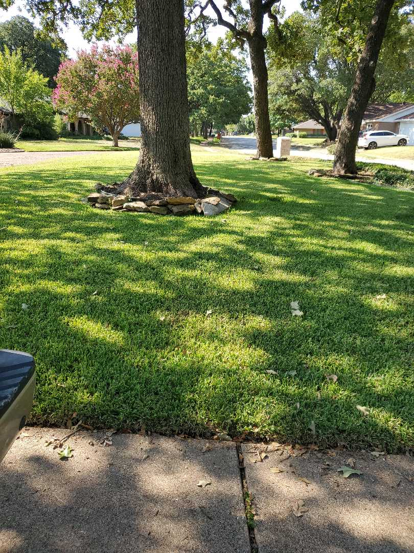 Irving, TX - Sprinkler system repairs,  check for a leak.