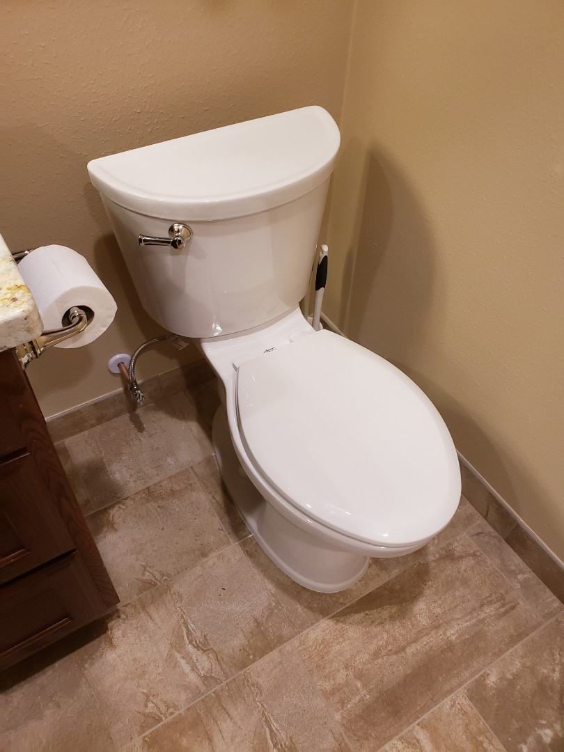 Katy, TX - Tub and toilet installation