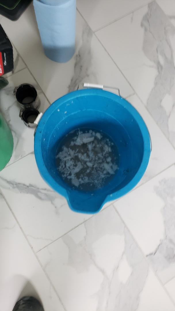 Clogged drain 77018