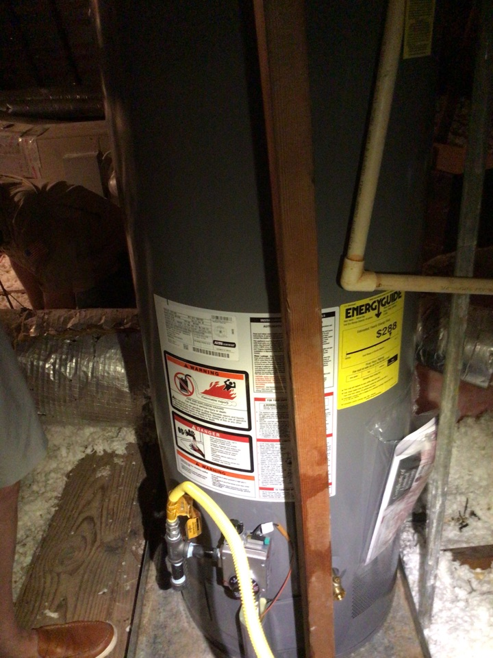Houston, TX - Replace water heater